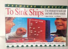 RARE vintage new old stock to sink ships by JUFASA made in Spain board game