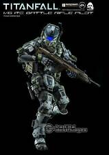 "Titanfall IMC Battle Rifle Pilot 1:6 Action Figure 12"" 30cm ThreeZero"
