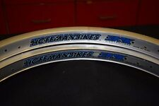 Nos HOFFMAN BIKES 20'' Rims Set High Rollers 48h Double Wall Old Mid School BMX