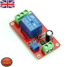 Ritardo 12V Relay Timer NE555 ritardo regolabili switch 1 a 20 seconda DC NUOVO
