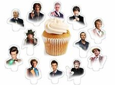doctor who faces dr X24 edible stand up cup cake toppers wafer paper *PRE-CUT