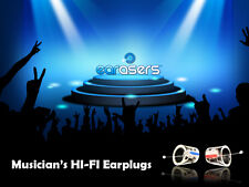Earasers Musicians Hi-Fi Earplugs Loud Sound Protectors by Persona (Size Large)