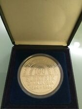 Willie: 100Years Tenaga National Silver coin 1994