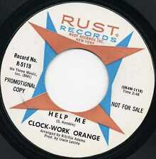 "CLOCK-WORK ORANGE ""HELP ME"" U.S. PSYCH GARAGE 1967"