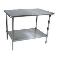 "John Boos ST6-3096SSK Work Table Stainless Undershelf 96""W x 30""D"