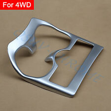 Chrome Water Cup Holder Cover Styling FOR 2014 - 2016 Nissan Rogue X-Trail T32