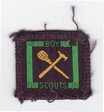 1950's UNITED KINGDOM SCOUTS - BRITISH SENIOR SCOUT HANDYMAN Proficiency Badge