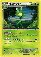 Leavanny Holo Rare Pokemon Card BW3 Noble Victories 3/101