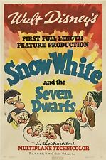 SNOW WHITE LAMINATED MINI MOVIE POSTER no 9 DISNEY