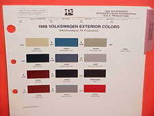 1988 VOLKSWAGEN VW JETTA GOLF FOX CABRIOLET CONVERTIBLE SCIROCCO PAINT CHIPS 88