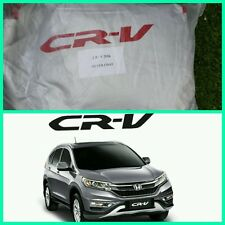 Honda CRV CR-V Full Car Body Cover Silver Coat 2013-16 Breath Dust UV Protection