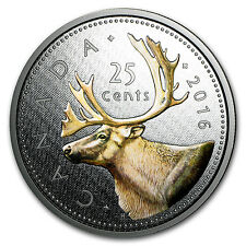 2016 Canada 5 oz Proof Silver Big Coin Series (25 Cent Coin) - SKU #95292