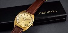 Zenith Automatic Autosport 28800 jumbo, cal 2562 PC fully serviced, gold pl. box