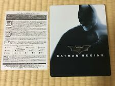 amazon.co.jp limited Batman Begins Blu-ray SteelBook rare from Japan Steel Book