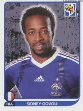 N°101 SIDNEY GOVOU # FRANCE STICKER PANINI WORLD CUP SOUTH AFRICA 2010