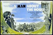 MAN ABOUT THE HOUSE 1947 Dulcie Gray, Kieron Moore TRADE ADVERT