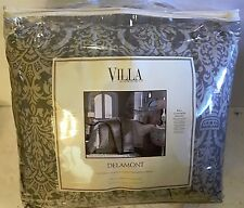 NOBLE EXCELLENCE VILLA DELAMONT KING COMFORTER MINI SET $279.99 TAG BRAND NEW!