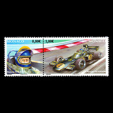 "Monaco 2016 - Formula 1 Legends ""Ronnie Peterson"" Car Racing - MNH"
