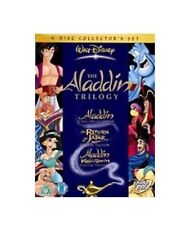 Aladdin Trilogy Walt Disney DVD Box Set 1 2 3 Return Jafar King Of Thieves UK