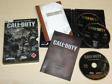 CALL OF DUTY - LIMITED EDITION PC - INKLUSIVE SOUNDTRACK & HANDBUCH