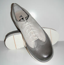 $160 Tsubo Men Hase Ash Lace-Up Oxfords Lightweight Shoes sz 8M