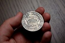 1618 SILVER KRONE Denmark king Christian IV 1588 - 1648 CROWN COIN RARE MEDIEVAL