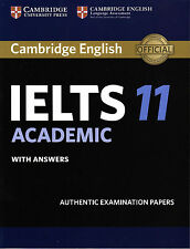 Cambridge English IELTS 11 ACADEMIC with Answers @NEW@ 2016; Book only!