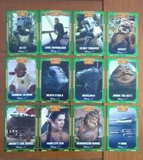 12x Disney Store Star Wars Episode 6: Return of the Jedi Collector Cards - NEW