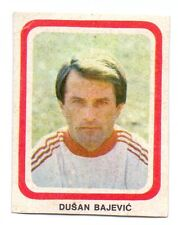 STICKER -  DUSAN BAJEVIC FC VELEZ MOSTAR - FROM 1980'S