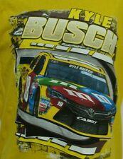 Kyle Busch 2016 M & M's Loud & Proud T-Shirt - Adult 3X Free Ship # 18