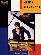 """THE MONTY ALEXANDER COLLECTION"" ARTIST TRANSCRIPTIONS-PIANO MUSIC BOOK-NEW SALE"