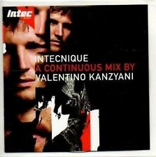 (AH510) Intechnique, Mix by Valentino Kanzyani - DJ CD
