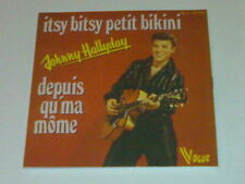 JOHNNY HALLYDAY CD 2T ITSY BITSY PETIT BIKINI (2010 EDIT) VOGUE