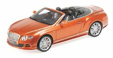 Bentley Continental GT Speed Convertible (orange metallic) 2014