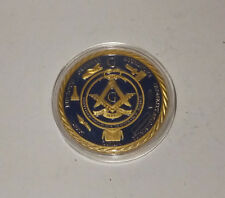 Masonic 1oz 24K GOLD BULLION COIN - Illuminati / Freemason / Blue Lodge