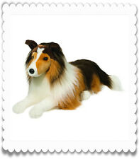 DOUGLAS CUDDLE TOY DOG - COLLIE  -  LASSIE - 1844 - LYING DOWN