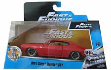 "Diecast car - Fast & Furious - Dom's 1970 Chevy Chevelle SS - approx 5"" x 1.5"""