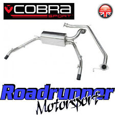 "HN17 Cobra Sport Honda Civic Type R FN2 System 2.5"" Stainless Cat Back Non Res"