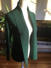 Banana Republic Dark Green Wool Blend Cardigan Sz XS