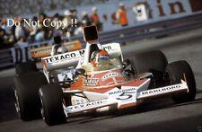 Emerson Fittipaldi McLaren M23 Monaco Grand Prix 1974 Photograph 4