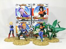 Dragon Ball Kai Ichiban kuji I Figure 4Box Set Sell Android 17 18 Trunks Freeza