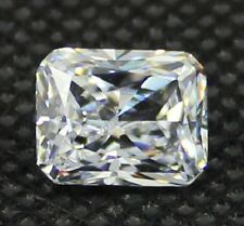Radiant Brilliant 9 x 7 mm 4.5 ct VVS D White Lab Diamond Perfect Solitaire Gem