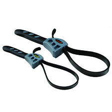 2 Pc Rubber Strap Wrench Set  - HFT-69373 - Free S/H