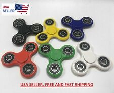 Hand Spinner Tri Fidget Ceramic Ball Desk Toy 3D EDC Torq Kids Adult US NEW