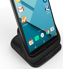 KiDiGi DESKTOP SYNC & CHARGER CRADLE USB DOCK FOR GOOGLE MOTOROLA NEXUS 6 PHONE