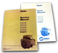 LOT JOHN DEERE 318 420 316 LAWN GARDEN TRACTOR ENGINE SERVICE PARTS MANUAL ONAN