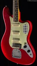 Fender Custom Shop Bass VI Journeyman Relic Aged Dakota Red (769)