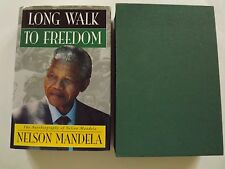 NELSON MANDELA LONG WALK TO FREEDOM GENUINE HAND SIGNED  1ST/1ST  1994
