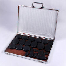 Salon Spa Hot Stone Pro Pain Relief Muscular Aches Reduction Back Massager Kit