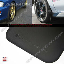 RALLY ARMOR BASIC SERIES MUD FLAPS FOR 1993-2001 SUBARU IMPREZA GM6 GM8 GC8 GF8